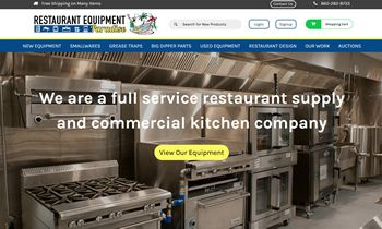 Restaurant Equipment Paradise Launches New Website