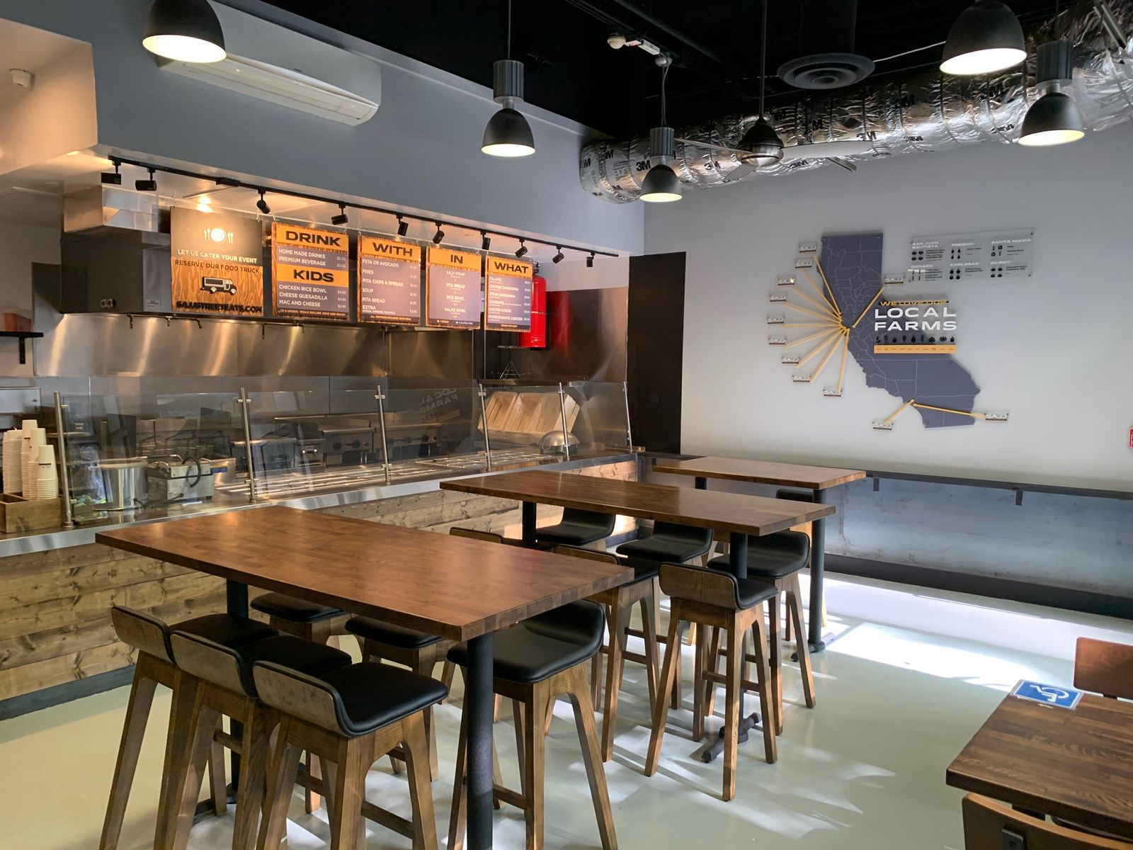 SAJJ Mediterranean will make its Los Angeles debut in downtown at 630 West 6th Street #110B with a Grand Opening celebration on Thursday, February 27. The concept has plans to continue expanding the SAJJ brand in Southern California with both brick-and-mortar and nontraditional formats.