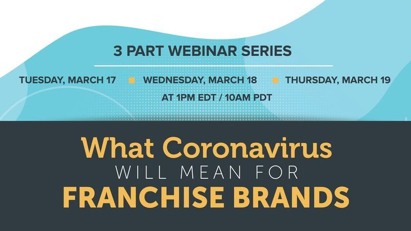 Coronavirus and Franchising Webinar: Day 1 Recap