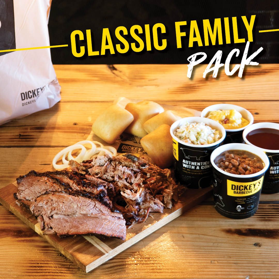 Dickey's Barbecue Pit Introduces New Family Deal