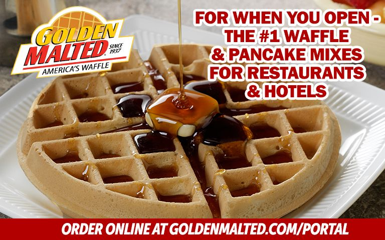 For When You Open - The #1 Waffle & Pancake Mixes for Restaurants & Hotels from Golden Malted, the World's Largest Mix Supplier