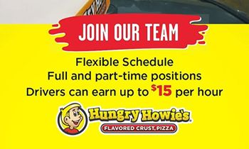 Hungry Howie's is Hiring for Delivery Drivers