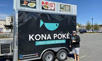 "Kona Poké Announces Debut of Food Trailer at ""Alive After 5"" in Downtown Sanford This Thursday and New Location in Apopka"