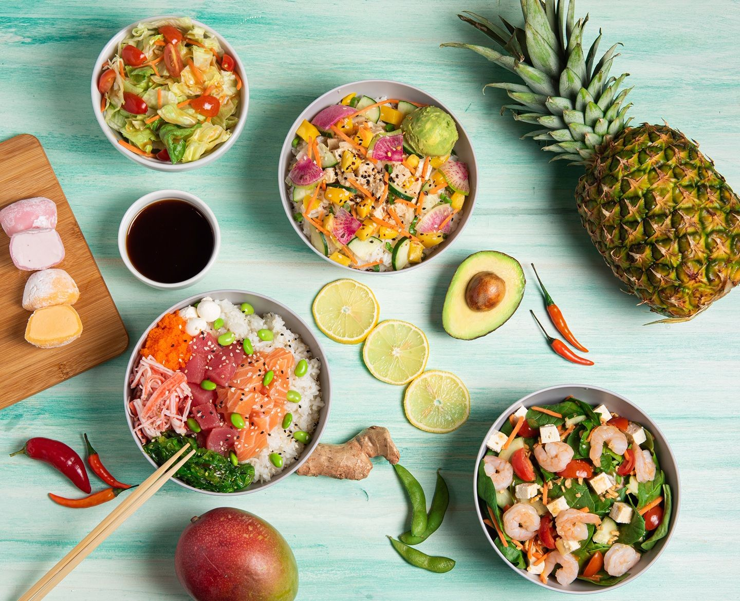 Kona Poké Announces Industry Leading 100% No-Contact Food Prep Guarantee