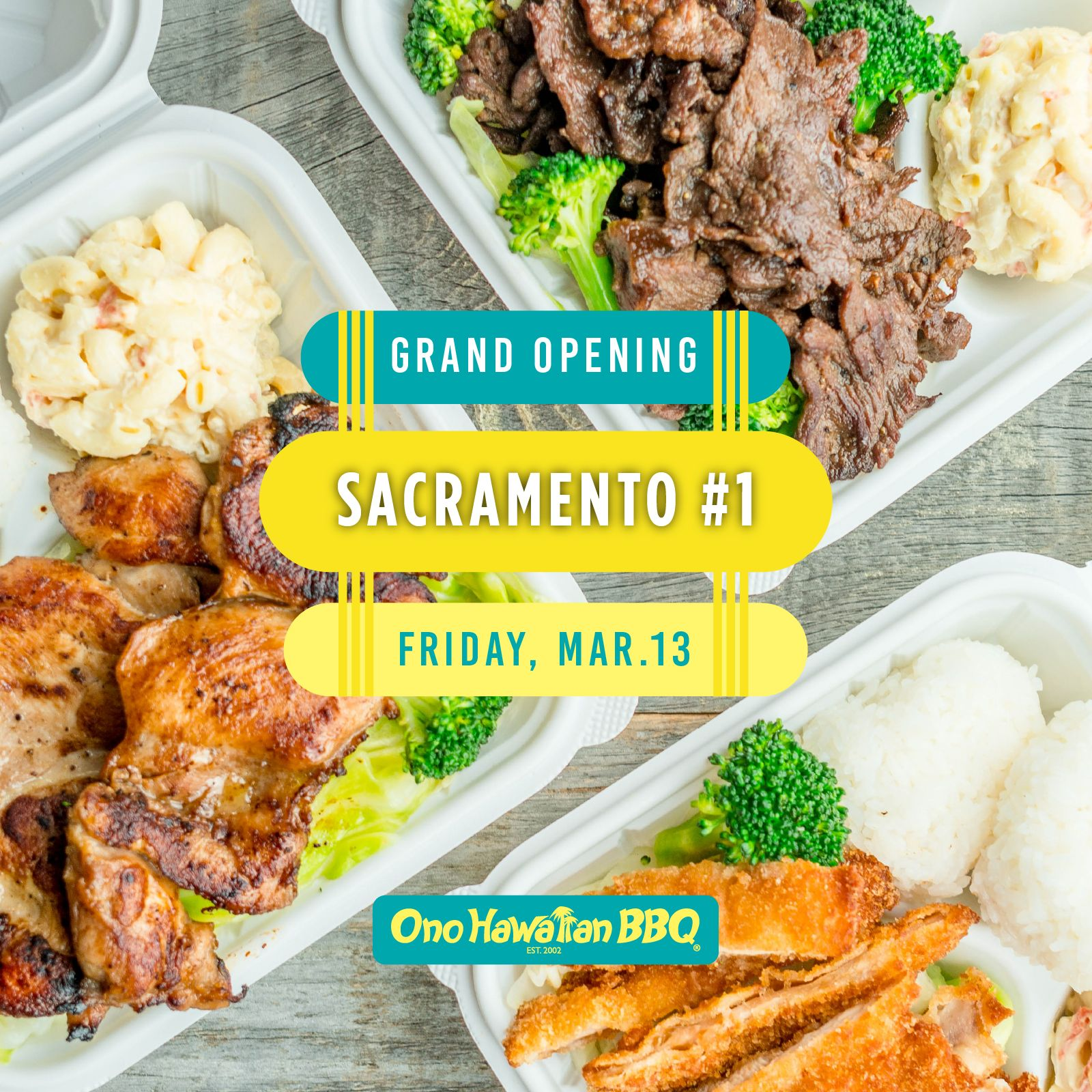 Ono Hawaiian BBQ Expands Across Sacramento With its Fourth Location