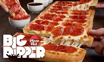 Pizza Hut Proves Bigger Is Better With The Colossal Classic Big Dipper Pizza