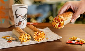Taco Bell Debuts New Toasted Breakfast Burrito Menu, Reminding Fans That Breakfast Burritos Are Better Left To Burrito Experts