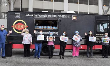 Fatburger Food Truck to Provide Over 10,000 Free Meals for Healthcare Heroes in Los Angeles and Southern California