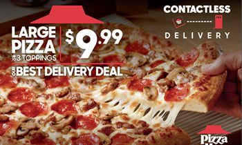 From Our Hut to Yours: Pizza Hut Has Family Mealtime Covered With Best Delivery Deal Yet: New $9.99 Large, 3-Topping Pizza