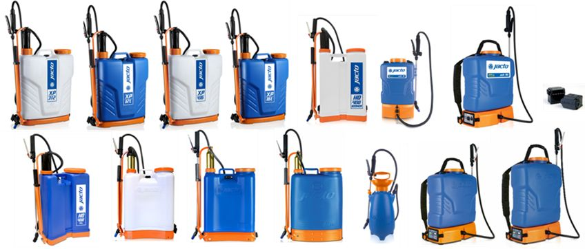 JACTO BACKPACK SPRAYERS - Efficient and Effective Tools for Applying Disinfecations