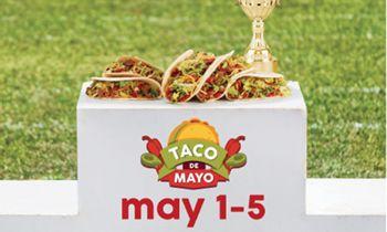 Taco John's Replaces Cinco de Mayo with a Five-Day Taco de Mayo Celebration