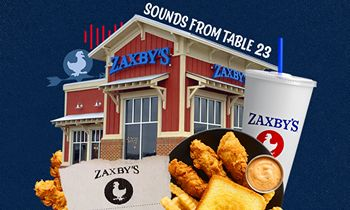 Zaxby's queues up curated SoundCloud playlist of ambient restaurant noise
