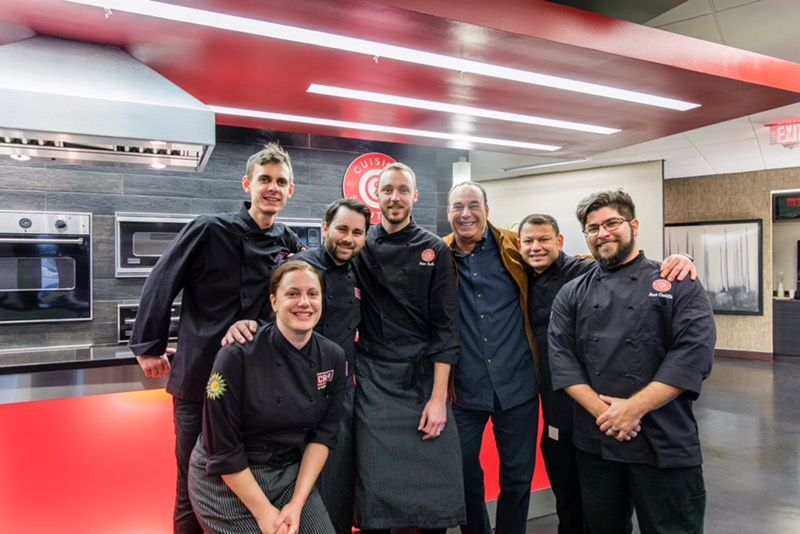 Jon Taffer with Cuisine Solutions & CREA Team Members