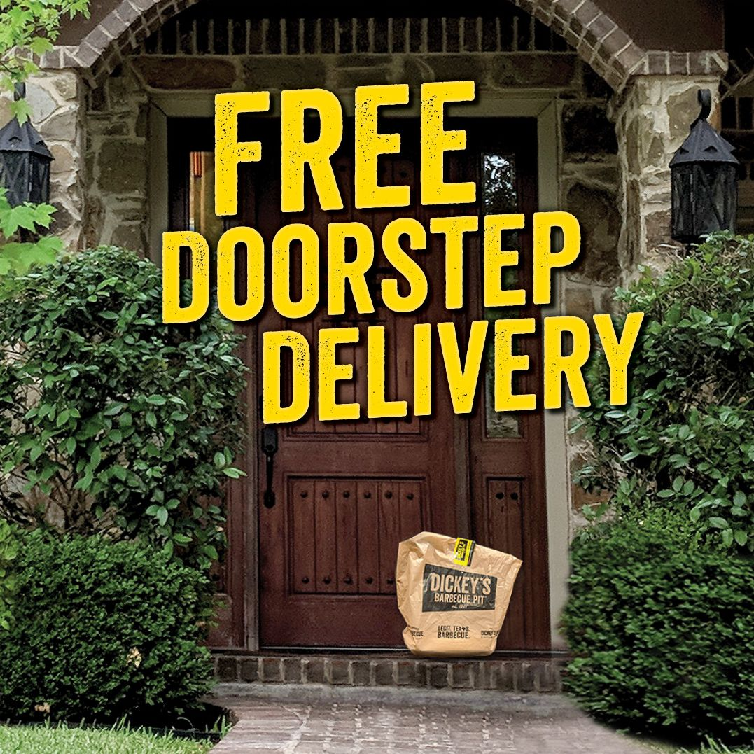 Dickey's Barbecue Pit Answers Off-Premise Demand by Extending Free Delivery Through June