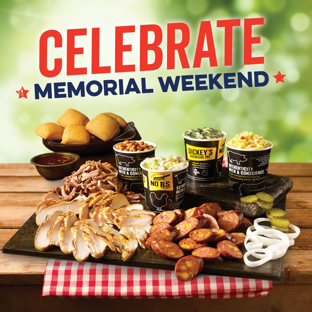 Dickey's Barbecue Pit is Celebrating Togetherness this Memorial Day