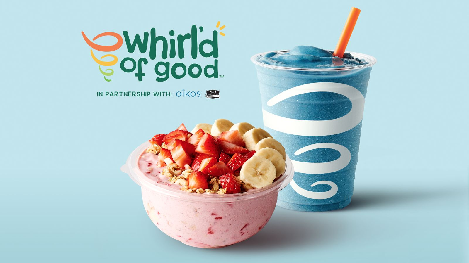Jamba Launches Whirl'd Of Good Buy One, Give One Program to Honor Frontline Heroes