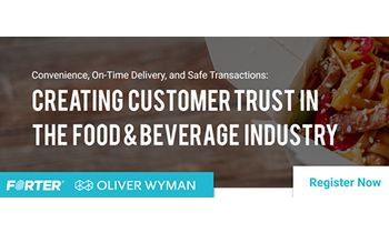 Creating Customer Trust in the Food & Beverage Industry – June 4 Webinar