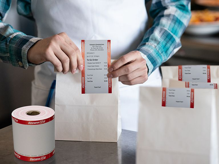 Dot It Expands SecureIt Tamper-Evident Label Line to Include Register Rolls and SecureIt Plus