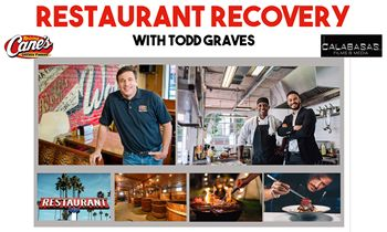 """Raising Cane's Founder and Calabassas Films Announce New TV Docuseries """"Restaurant Recovery"""" to Provide Relief for Struggling Restaurants Across America"""