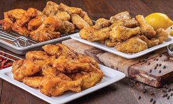 Slim Chickens Launches Lemon Pepper and Cayenne Ranch Dry Rub Chicken Wings LTO on June 29