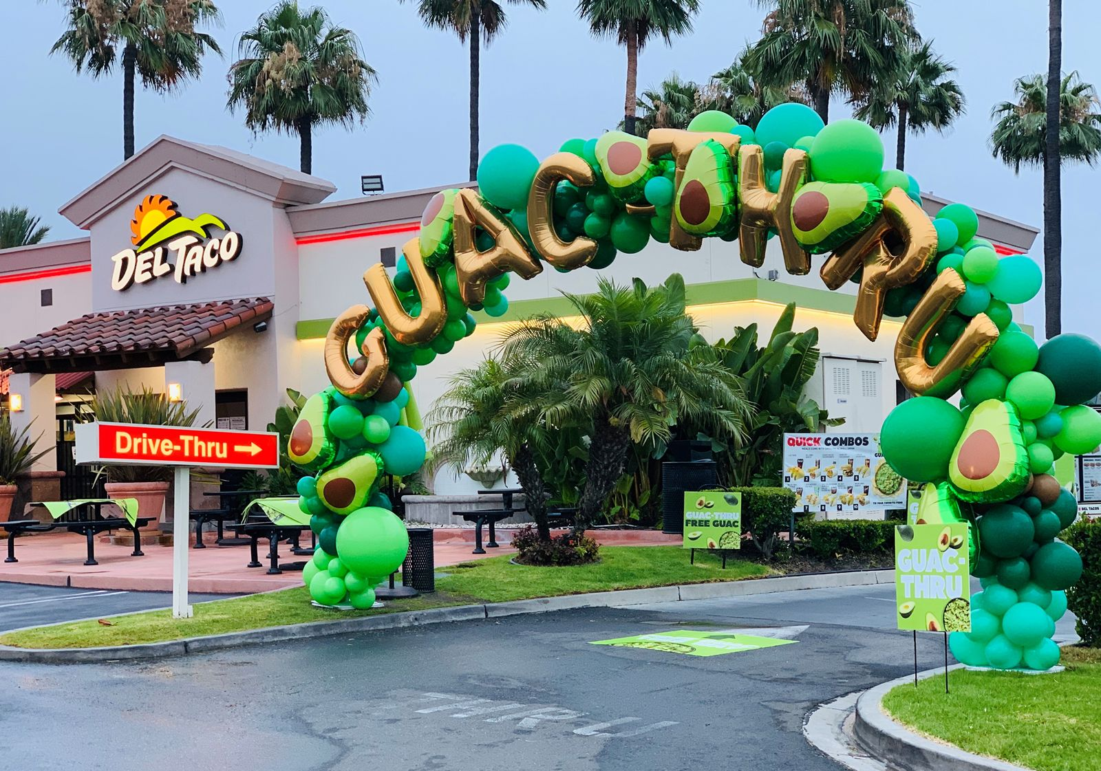 """Del Taco Launches """"Guac-Thrus"""" for National Drive-Thru Day With Free Fresh Guacamole for Everyone & on Almost Anything"""