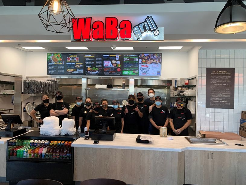 WaBa Grill North Hollywood Team (4821 Lankershim Blvd.)