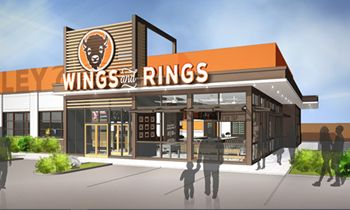Buffalo Wings & Rings Launches First Bar/Restaurant Featuring Revamped Design