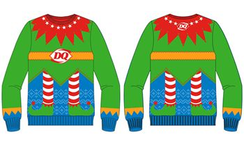 Dairy Queen Limited Edition Holiday Sweater Will Bring Out Your Inner Elf