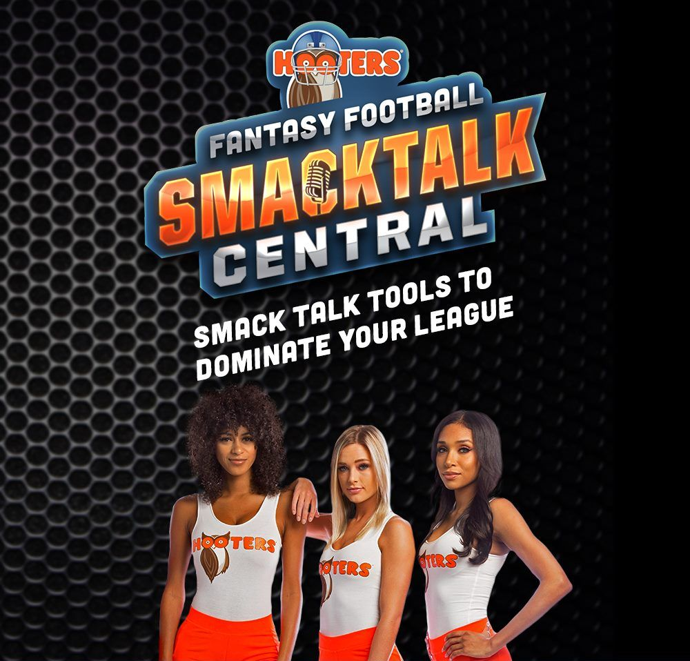 """Dish Out Hooters """"Smack Talk"""" to Your League as Part of the Ultimate Fantasy Football Draft Experience"""