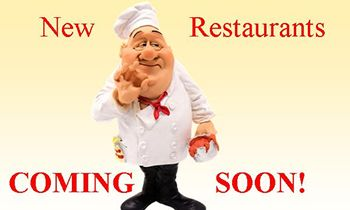 Find New Restaurants Opening Soon Around the Country!