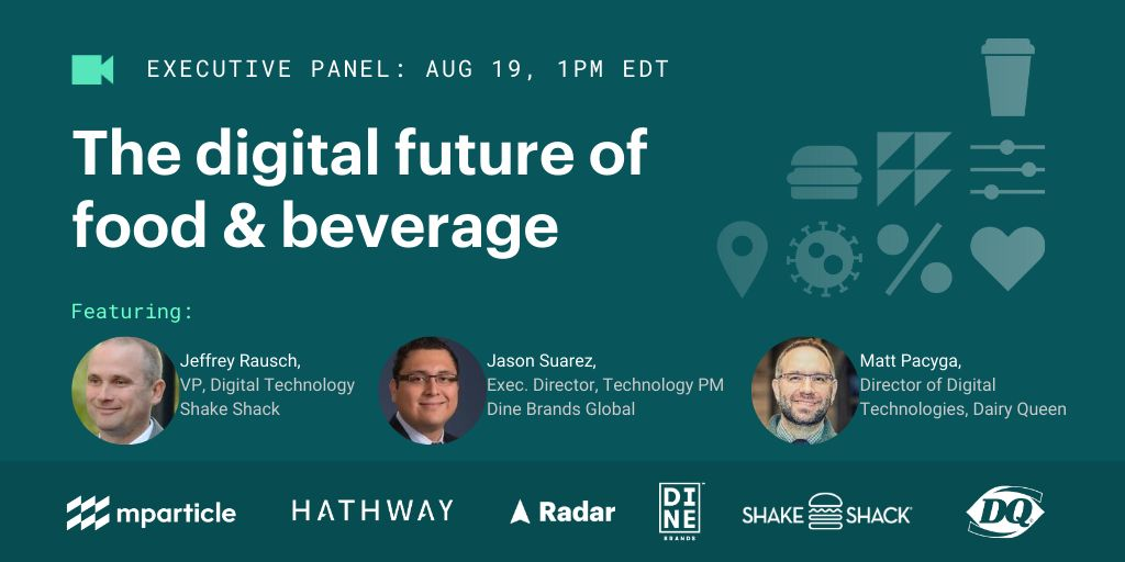 Webinar: The Digital Future of Food & Beverage - Register Now