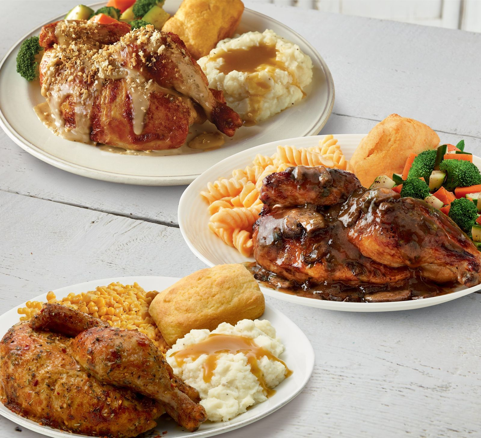 "Boston Market Invites Guests To ""Fall in Love With Flavor"" This Autumn With The Return of Chicken Marsala, Tuscan Chicken, and Roasted Garlic & Herb Chicken"