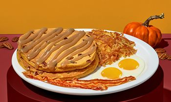 Denny's is Serving Up Value, Comfort and Convenience with the Return of Super Slam and New Pumpkin Pecan Pancakes