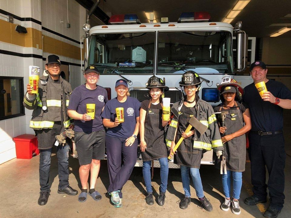 Dickey's Barbecue Pit Supports First Responders with Food and Monetary Donations