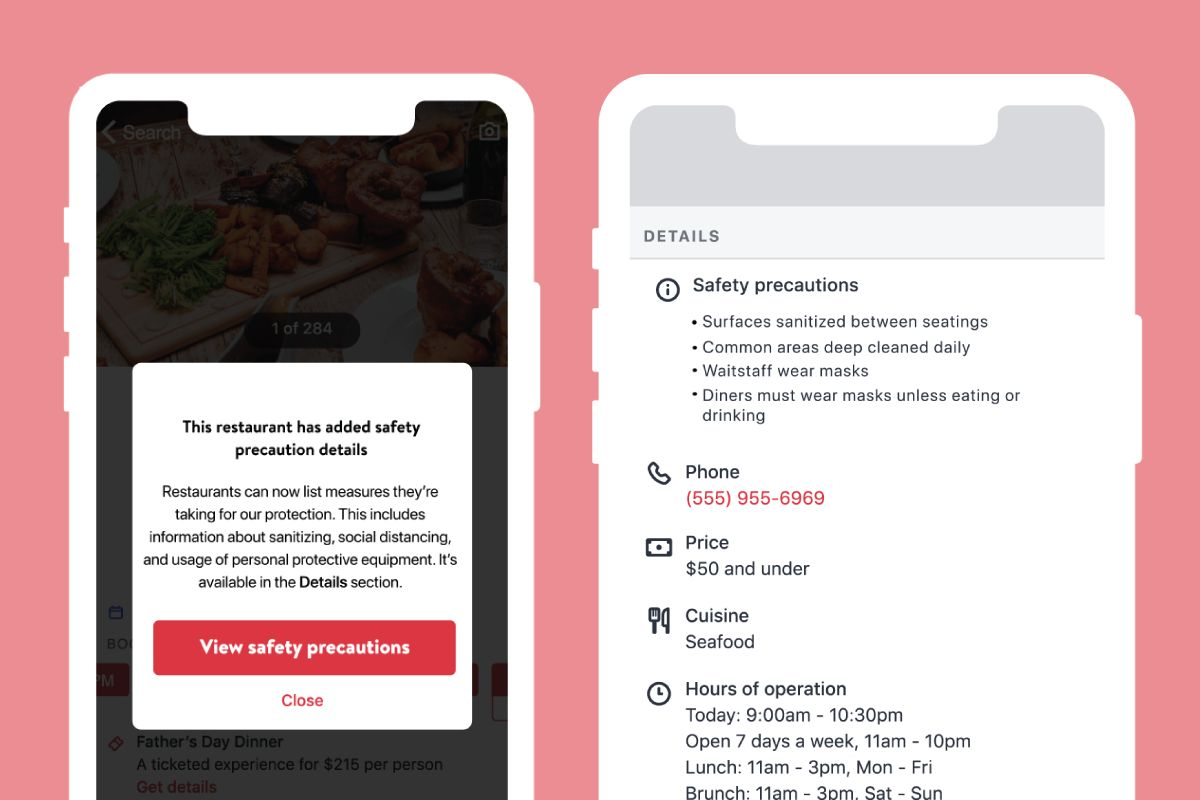 OpenTable Unveils New Suite of Product Features and Extends Price Cuts into 2021 to Support Restaurants during the COVID-19 Crisis