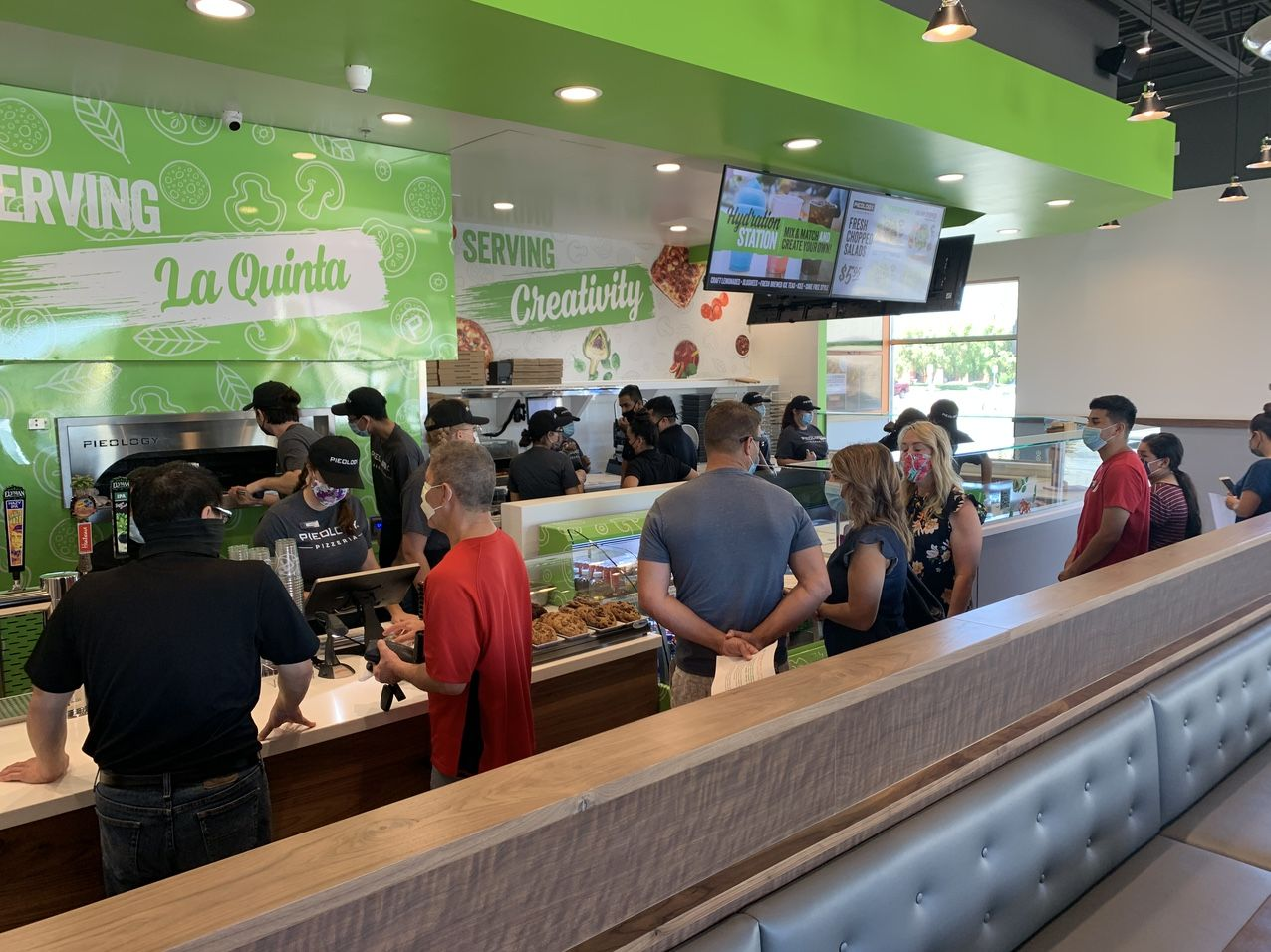 Pieology Opening in La Quinta Simply Dazzles Greater Coachella Valley