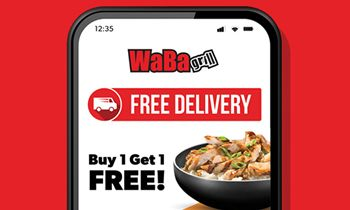 WaBa Grill Launches Updated Mobile Rewards App