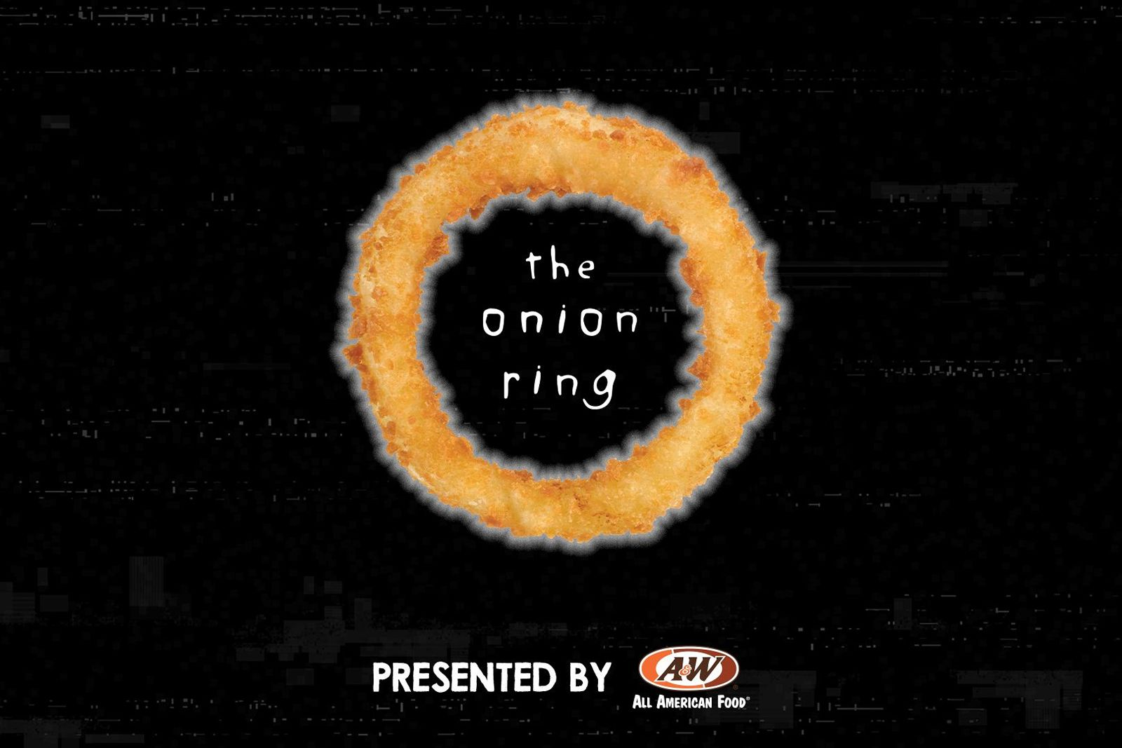 """A&W Restaurants Gets Creepy with Cursed Prank Video """"The Onion Ring"""""""