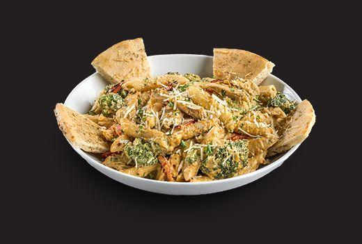 Boston's Spicy Chicken & Broccoli Alfredo