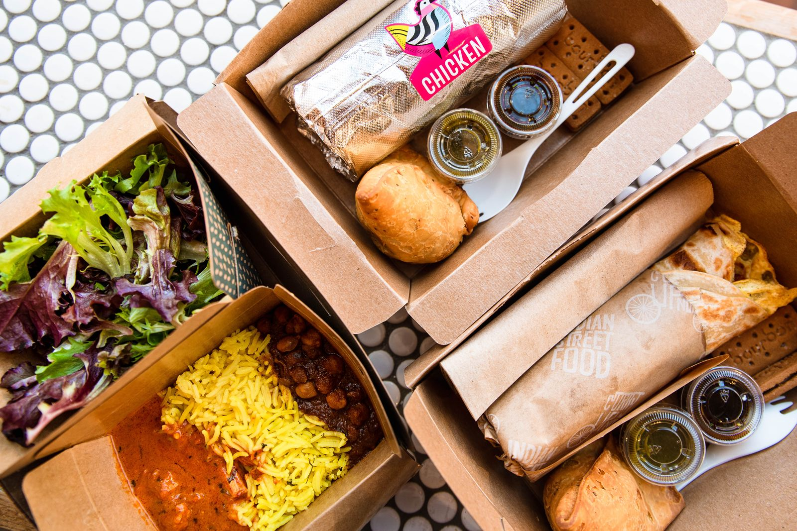 """Curry Up Now is continuing its """"Roll it Forward"""" initiative with a burrito donation drive in honor of Veterans Day, November 11."""