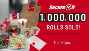 Dot It Hits Milestone - One Million SecureIt Label Rolls Sold
