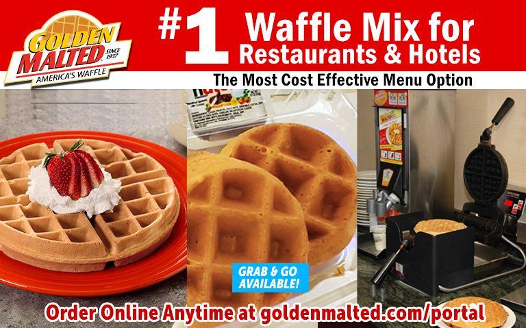 #1 Waffles for Restaurants - Serve Golden Malted Waffles - America's Favorite