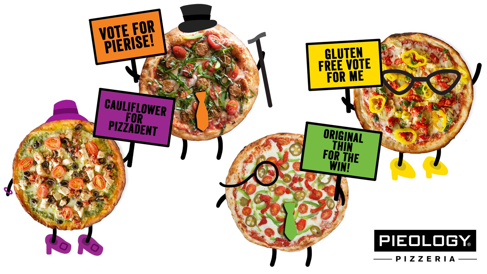 Pieology Rewards Voters with Personalized Pizza
