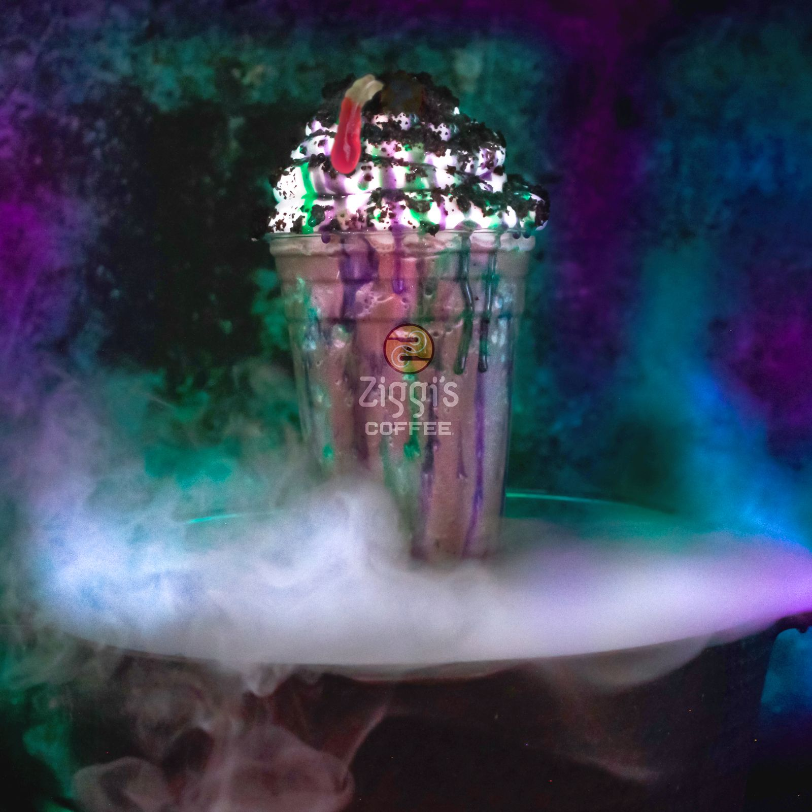 Something Wickedly Delicious This Way Comes - Ziggi's Coffee Announces Halloween-Themed Drink