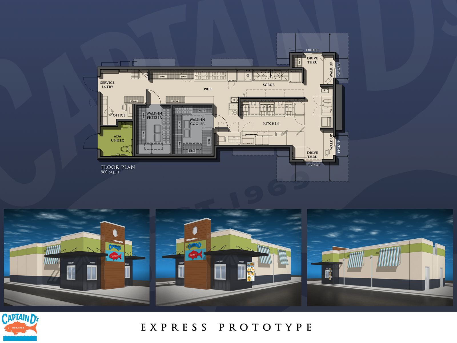 Captain D's Unveils Innovative New 'Express' Restaurant Prototype to Drive Franchise Development in Untapped Markets