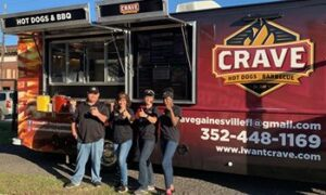 Gainesville, Florida Welcomes Crave Hot Dogs and BBQ Food Truck