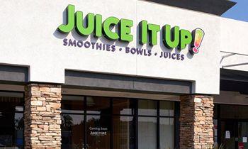 Juice It Up! Announces Double-Digit YOY Sales Increases