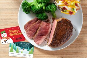 Outback Steakhouse Launches New Curbside Concierge for Holiday Gift Card Shopping
