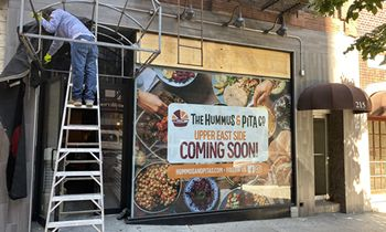 The Hummus & Pita Co. Secures New Location in Desirable Upper East Side Manhattan