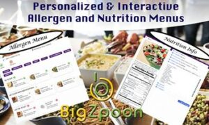 BigZpoon Introduces Digital Allergy & Nutrition Menus for Online Ordering